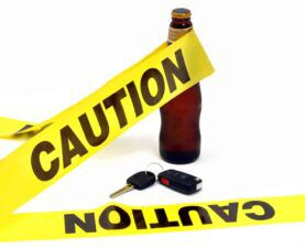 Caution Tape - Don't Drink and Drive