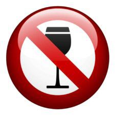 No Wine Symbol