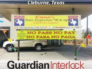 Cleburne Texas Ignition Interlock Installation Center Cano's State Inspection